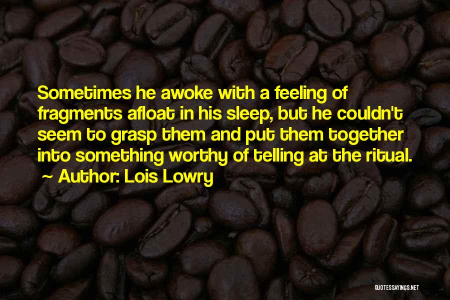 Lois Lowry Quotes 111052