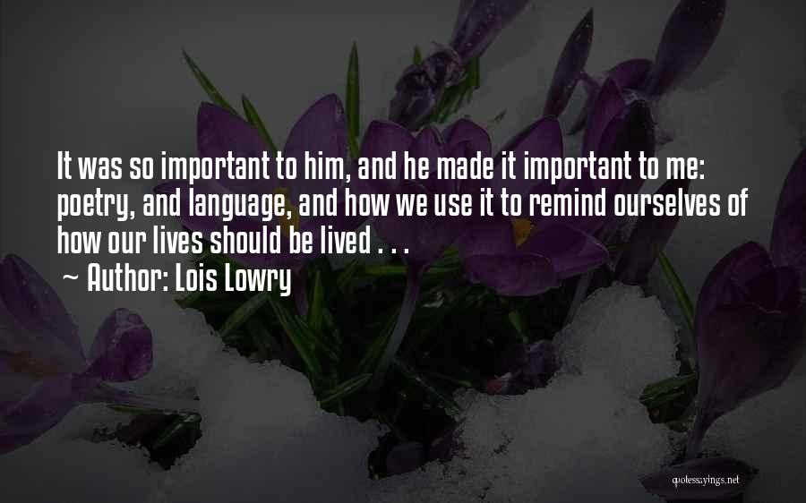Lois Lowry Quotes 1970669