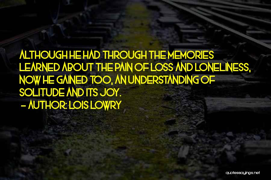 Lois Lowry Quotes 344698