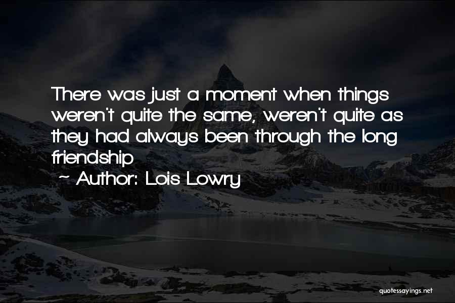 Lois Lowry Quotes 734803