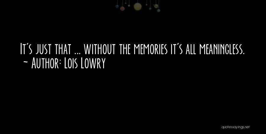 Lois Lowry Quotes 929405