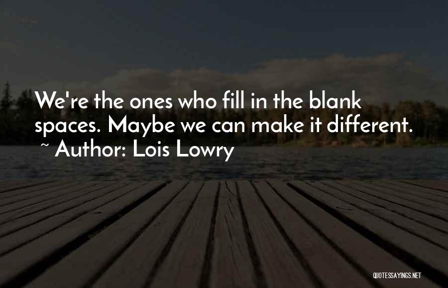 Lois Lowry Quotes 942927