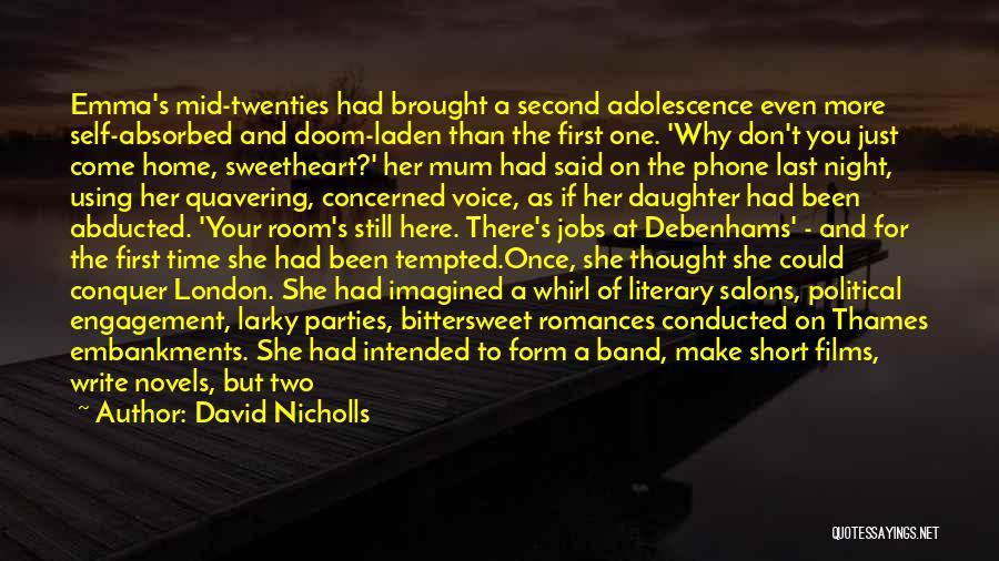 London At Night Quotes By David Nicholls