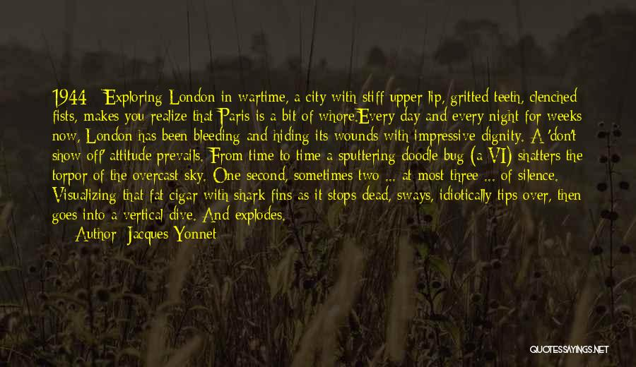 London At Night Quotes By Jacques Yonnet