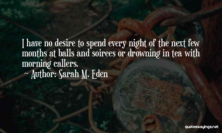London At Night Quotes By Sarah M. Eden