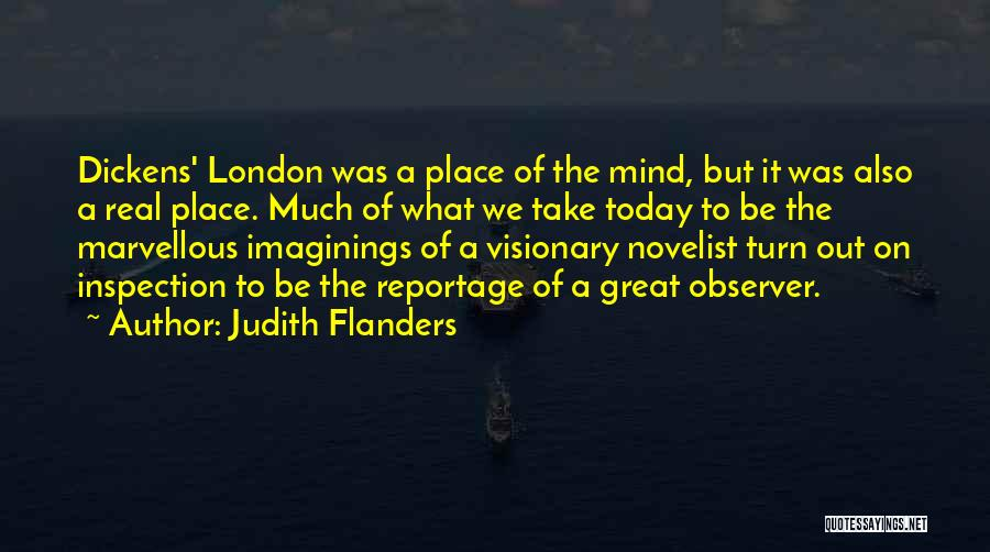 London By Charles Dickens Quotes By Judith Flanders
