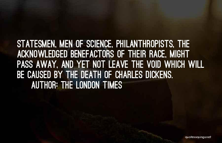 London By Charles Dickens Quotes By The London Times