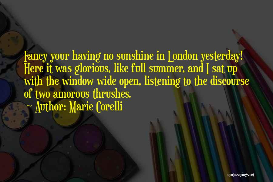 London Here I Come Quotes By Marie Corelli