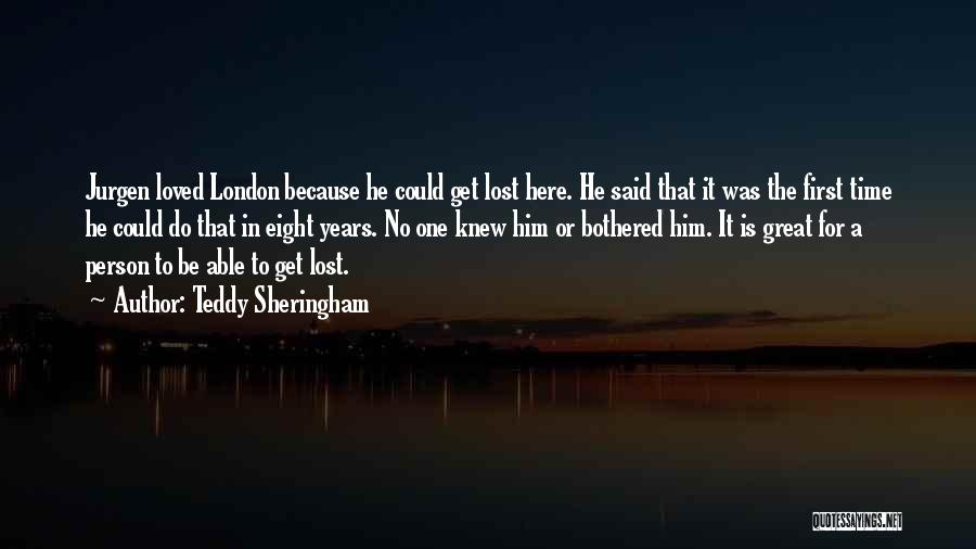 London Here I Come Quotes By Teddy Sheringham