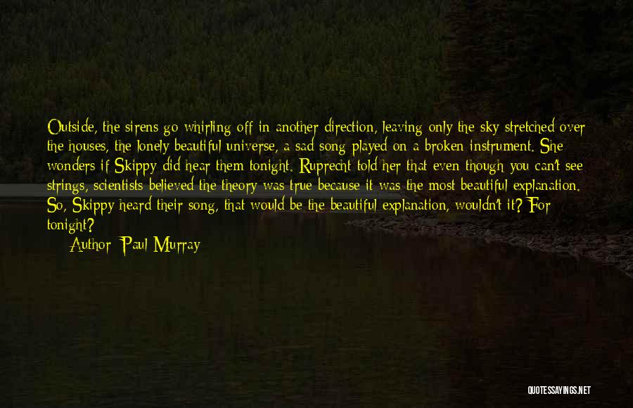 Lonely Tonight Quotes By Paul Murray