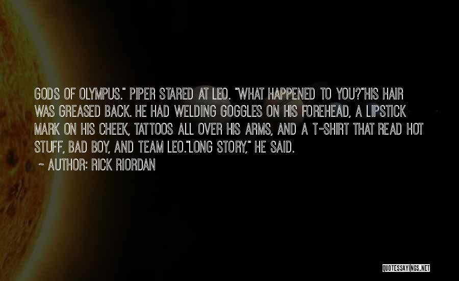 Long Arms Quotes By Rick Riordan