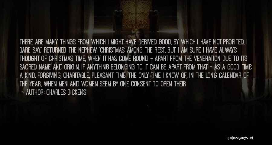 Long Holidays Quotes By Charles Dickens