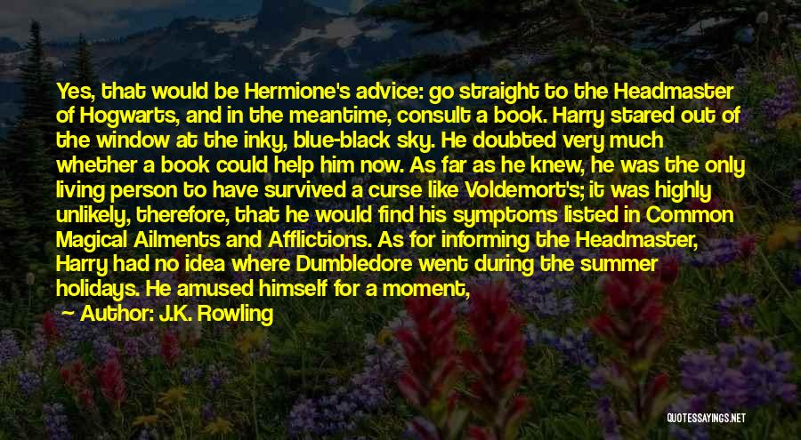Long Holidays Quotes By J.K. Rowling