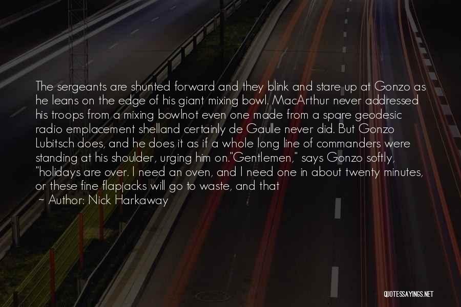 Long Holidays Quotes By Nick Harkaway