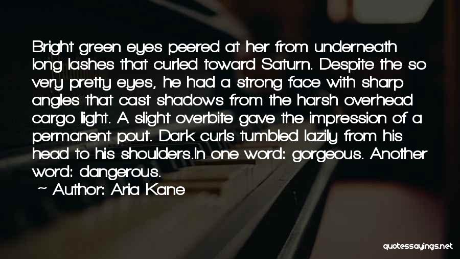 Long Lashes Quotes By Aria Kane
