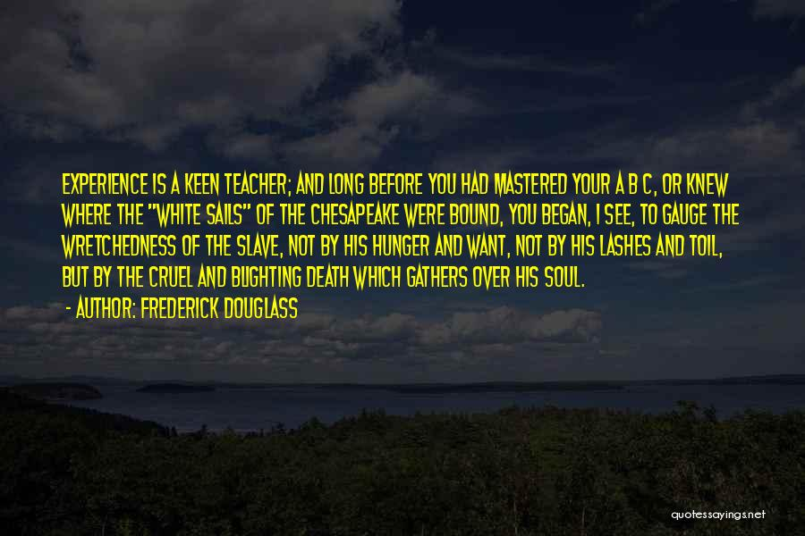 Long Lashes Quotes By Frederick Douglass