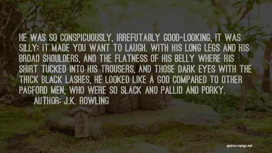 Long Lashes Quotes By J.K. Rowling