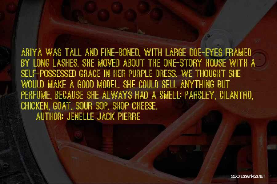 Long Lashes Quotes By Jenelle Jack Pierre