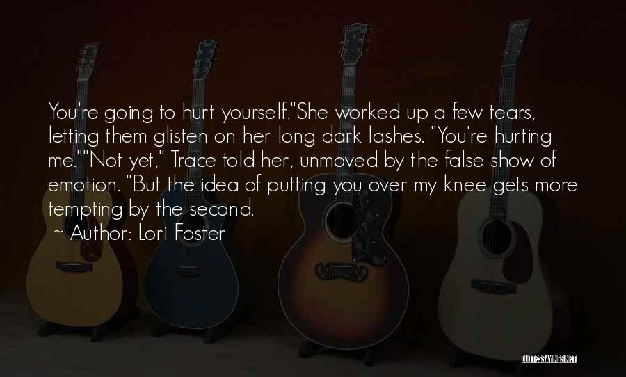 Long Lashes Quotes By Lori Foster