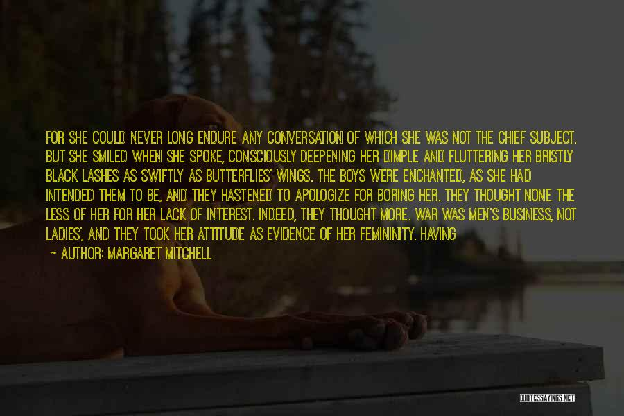 Long Lashes Quotes By Margaret Mitchell