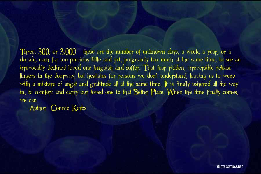 Long Life And Death Quotes By Connie Kerbs