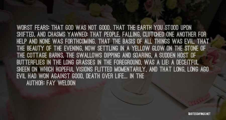 Long Life And Death Quotes By Fay Weldon