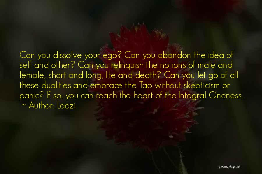 Long Life And Death Quotes By Laozi