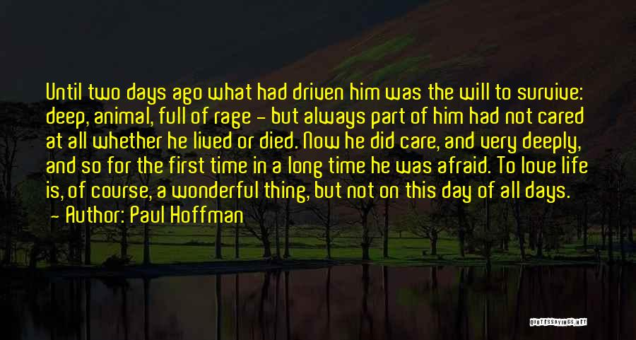 Long Life And Death Quotes By Paul Hoffman