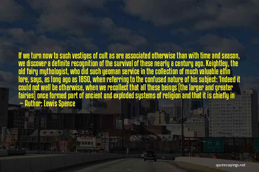 Long Service Recognition Quotes By Lewis Spence