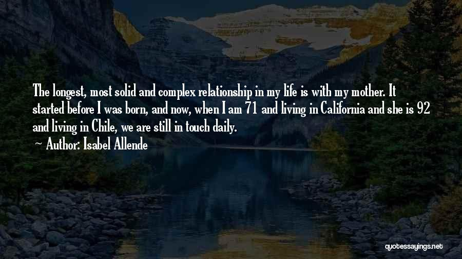Longest Relationship Quotes By Isabel Allende