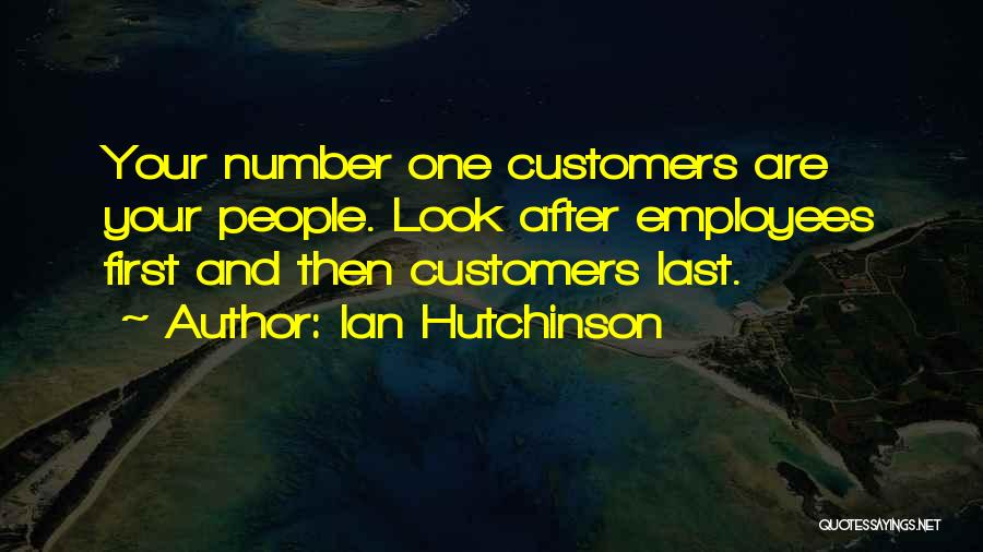 Look After Number One Quotes By Ian Hutchinson