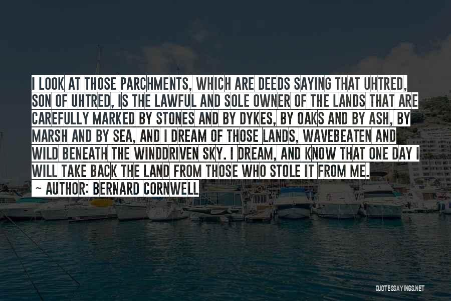 Look At Sea Quotes By Bernard Cornwell