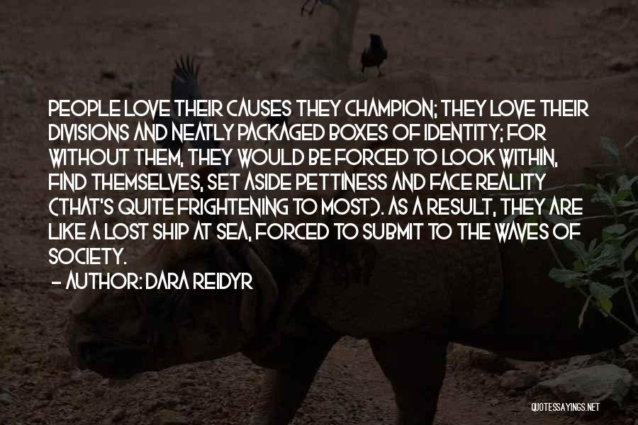 Look At Sea Quotes By Dara Reidyr