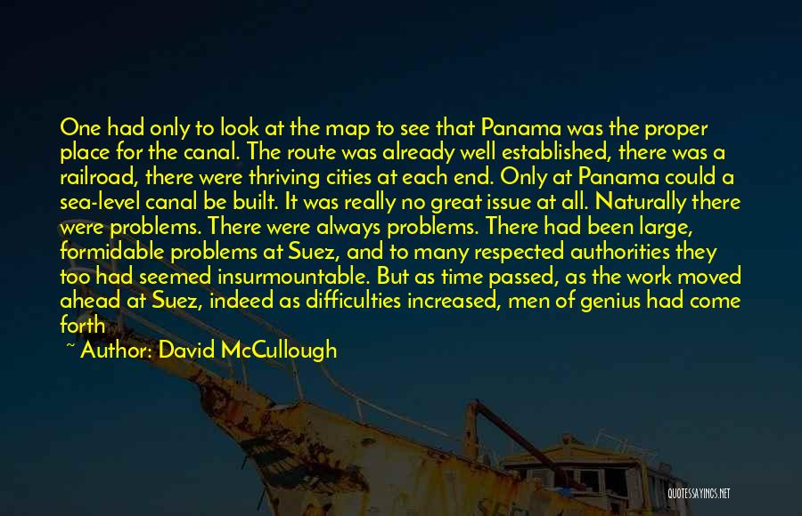 Look At Sea Quotes By David McCullough