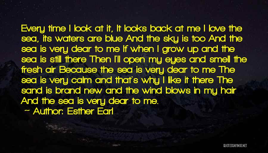 Look At Sea Quotes By Esther Earl