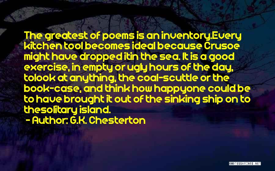 Look At Sea Quotes By G.K. Chesterton