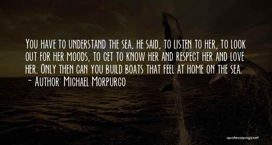 Look At Sea Quotes By Michael Morpurgo