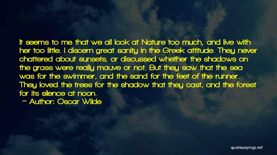 Look At Sea Quotes By Oscar Wilde