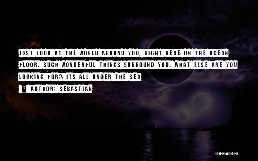 Look At Sea Quotes By SebastiAn