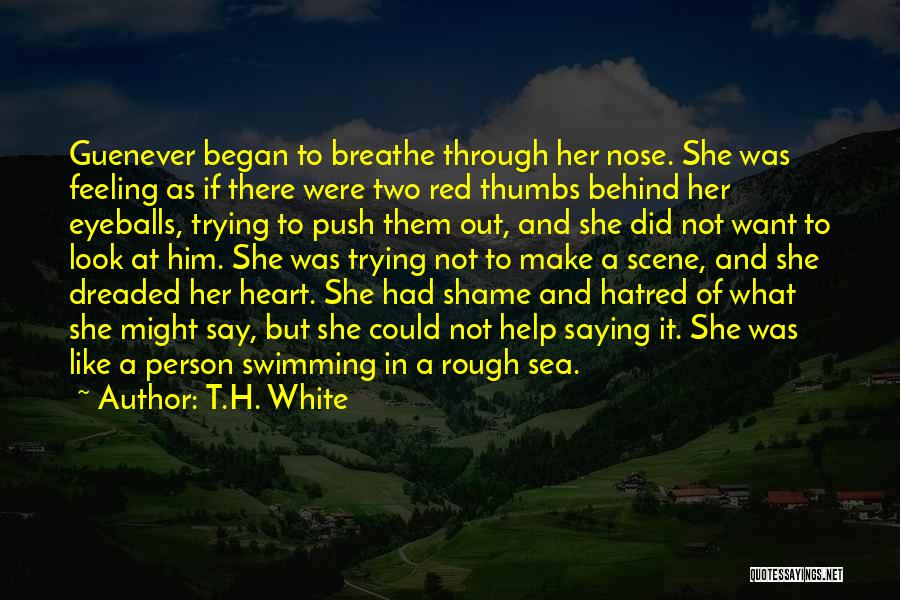 Look At Sea Quotes By T.H. White