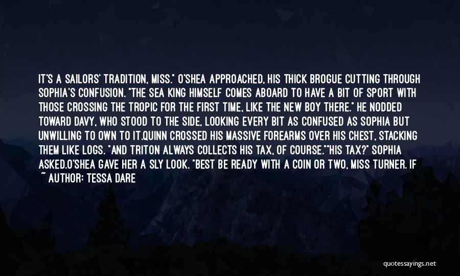 Look At Sea Quotes By Tessa Dare
