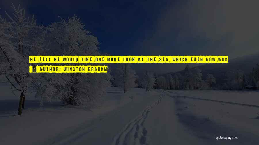 Look Behind The Smile Quotes By Winston Graham