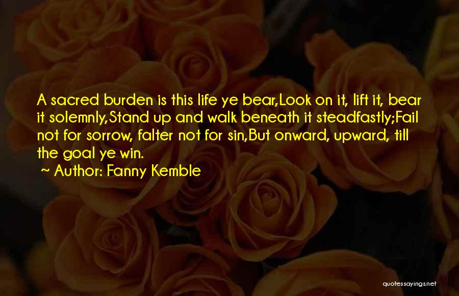 Look Beneath Quotes By Fanny Kemble