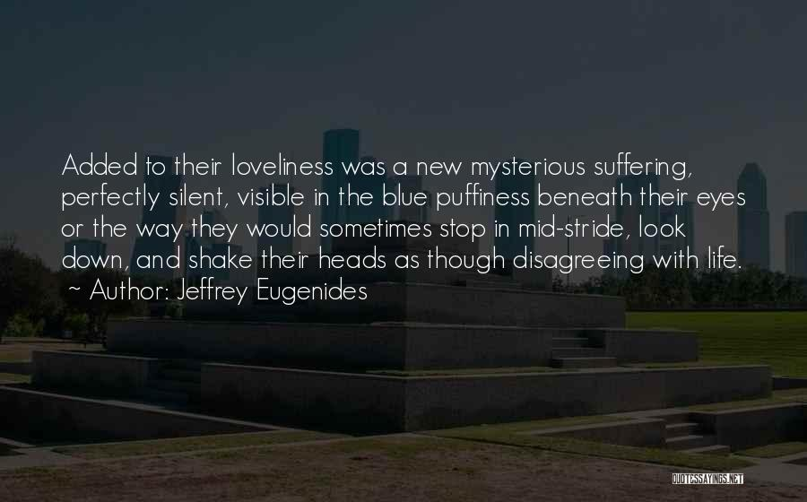 Look Beneath Quotes By Jeffrey Eugenides