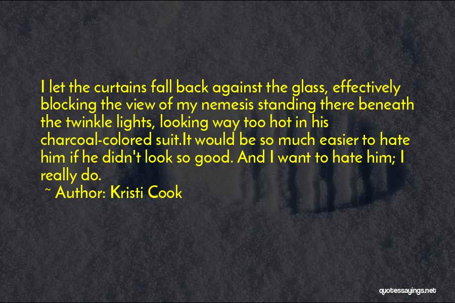 Look Beneath Quotes By Kristi Cook
