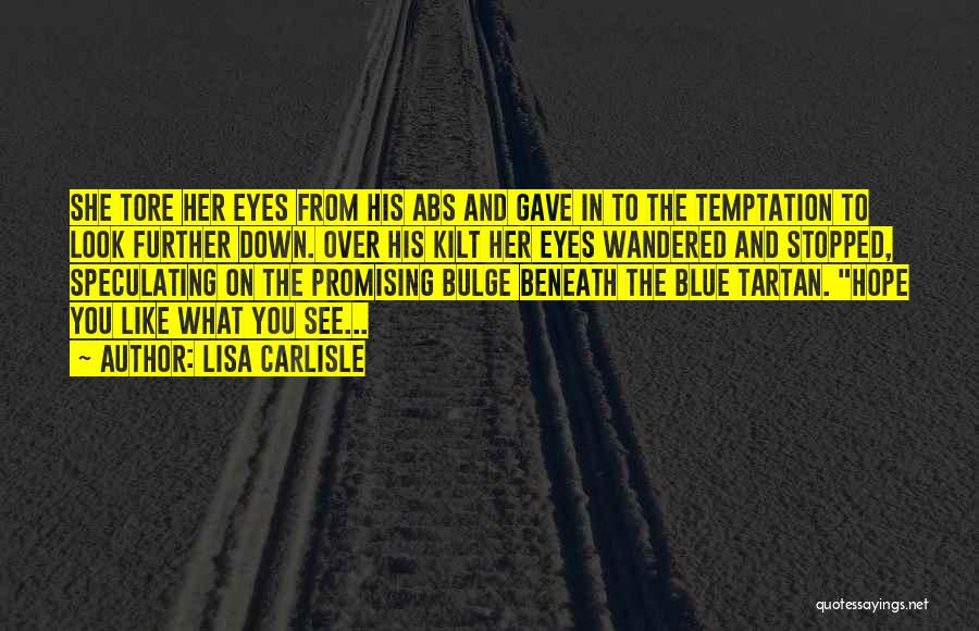 Look Beneath Quotes By Lisa Carlisle