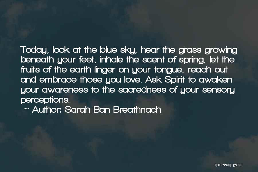 Look Beneath Quotes By Sarah Ban Breathnach