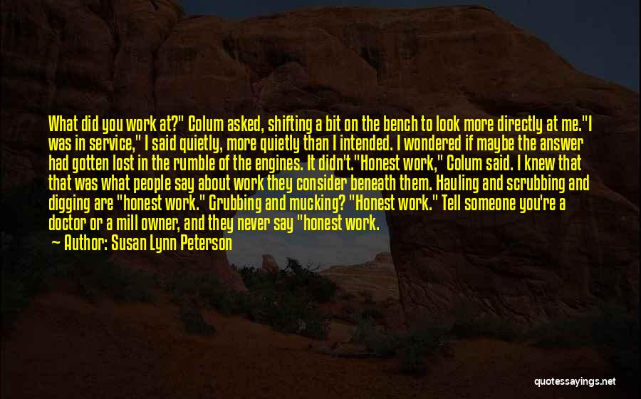 Look Beneath Quotes By Susan Lynn Peterson