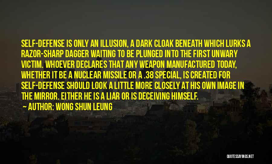 Look Beneath Quotes By Wong Shun Leung