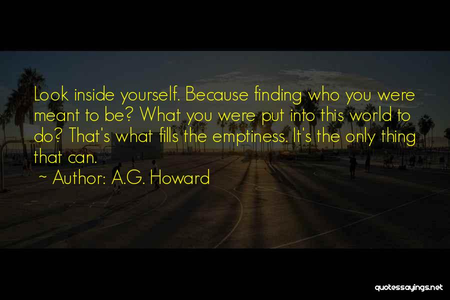 Look Into Yourself Quotes By A.G. Howard